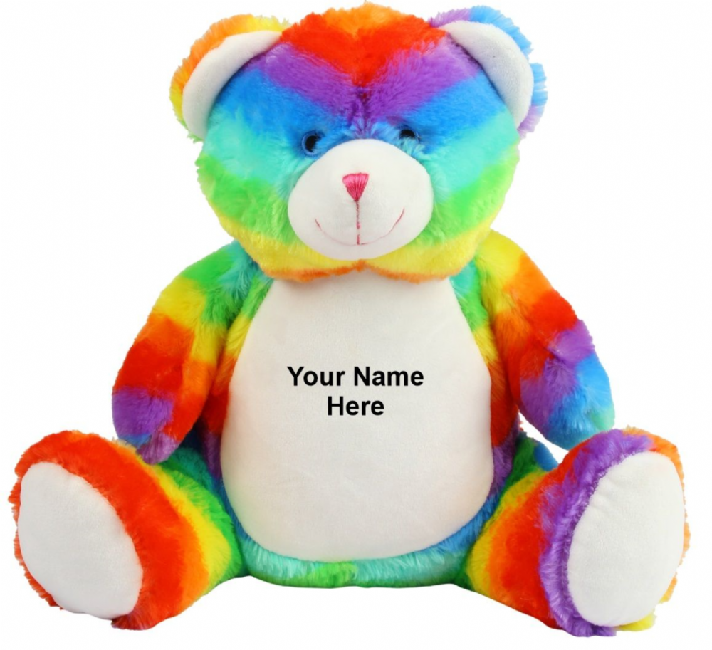 Zippie Rainbow Bear - MM555 Mumbles